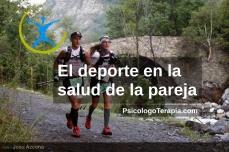 Foto de Josu Azcona (Charly Vega y Florencia Palacio) EL DEPORTE EN LA SALUD DE LA PAREJA